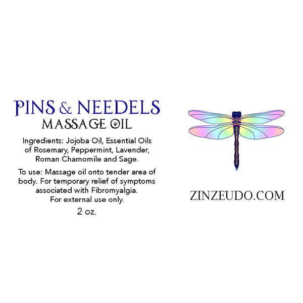 Pins and Needles Massage Oil