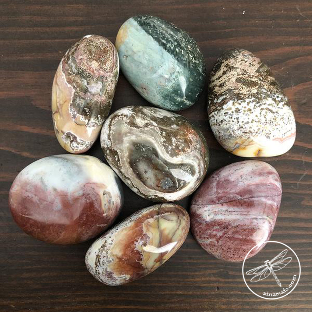 Jasper, Colorful for Protection, Balance & Creativity