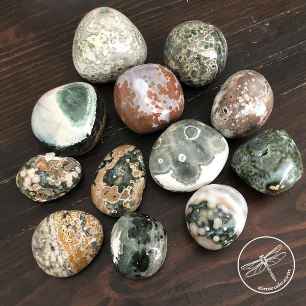 Jasper, Ocean for Protection, Nurturing & Soothing