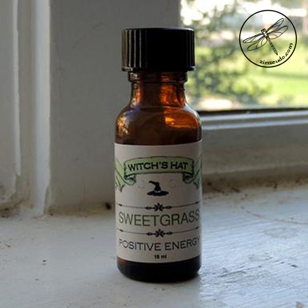 Sweetgrass Oil for Positive Energy