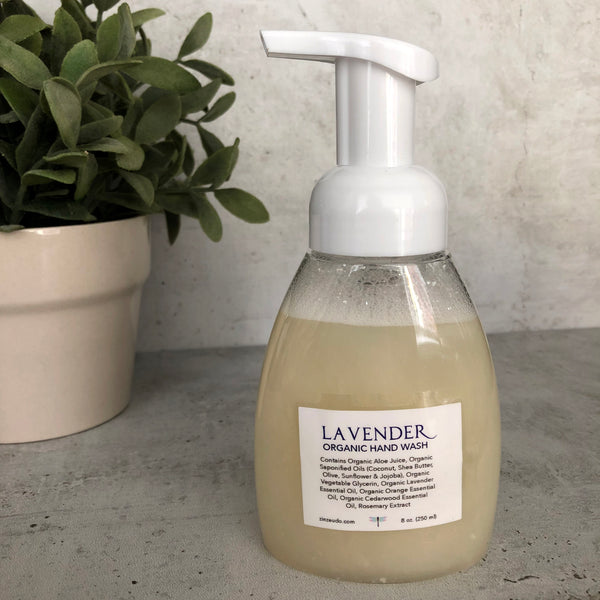 Organic Lavender Foaming Hand Soap