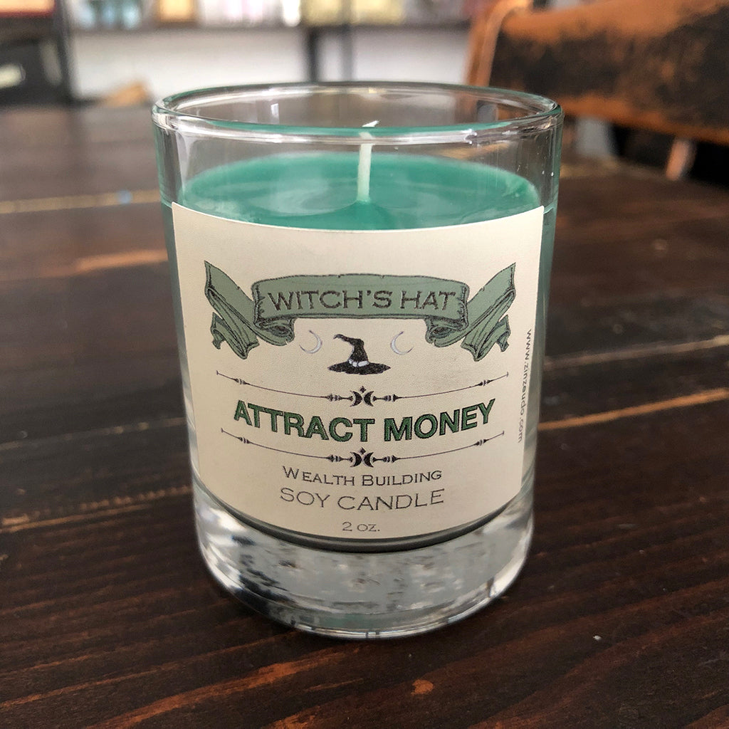 Attract Money Soy Votive