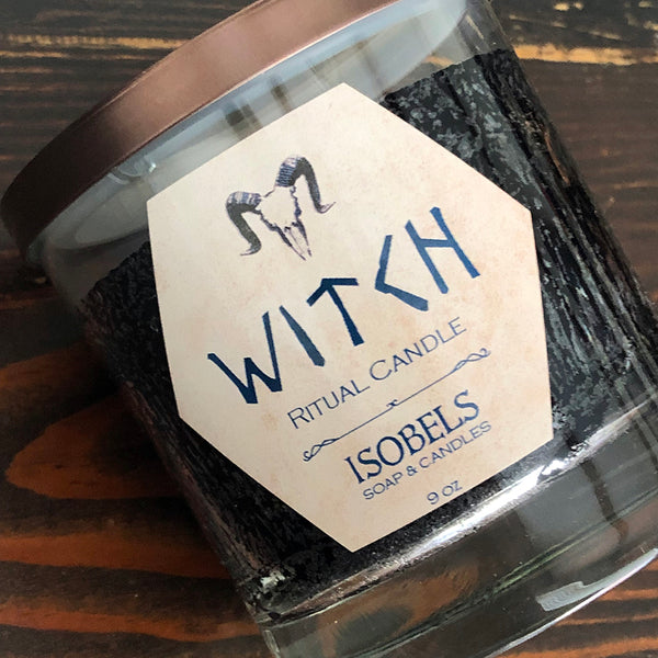 Witch Ritual Candle