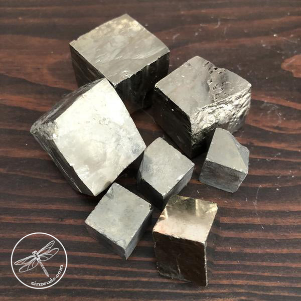Pyrite Clusters & Cubes for Prosperity & Protection