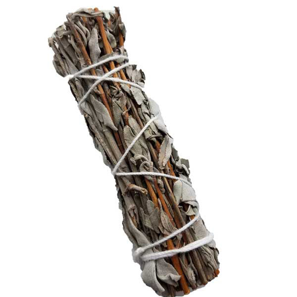 White Sage & Lavender Smudge Stick 4""