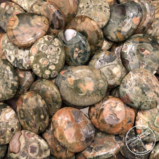Rainforest Rhyolite for Protection, Strength, Spiritual Contact