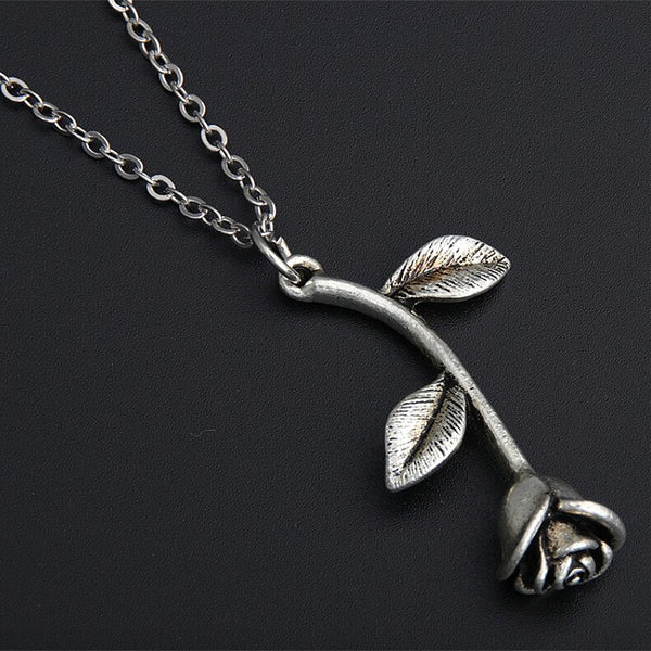 Blooming Rose Necklace