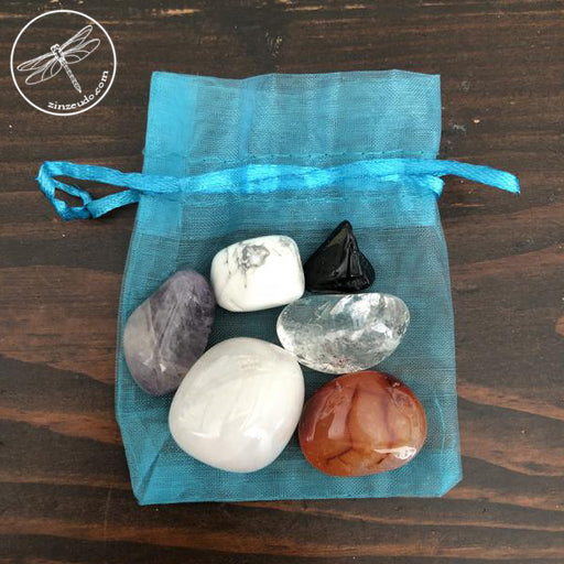 Six Core Energies Tumbled Stone Set