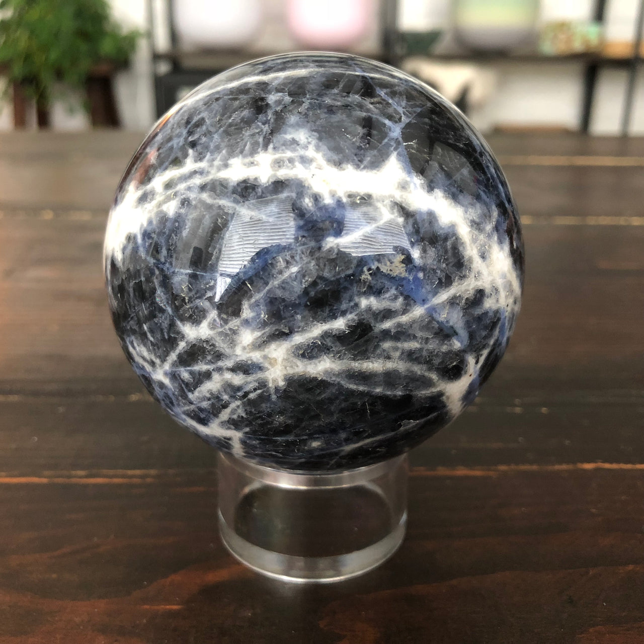 Sodalite Sphere for Intuition and Communication