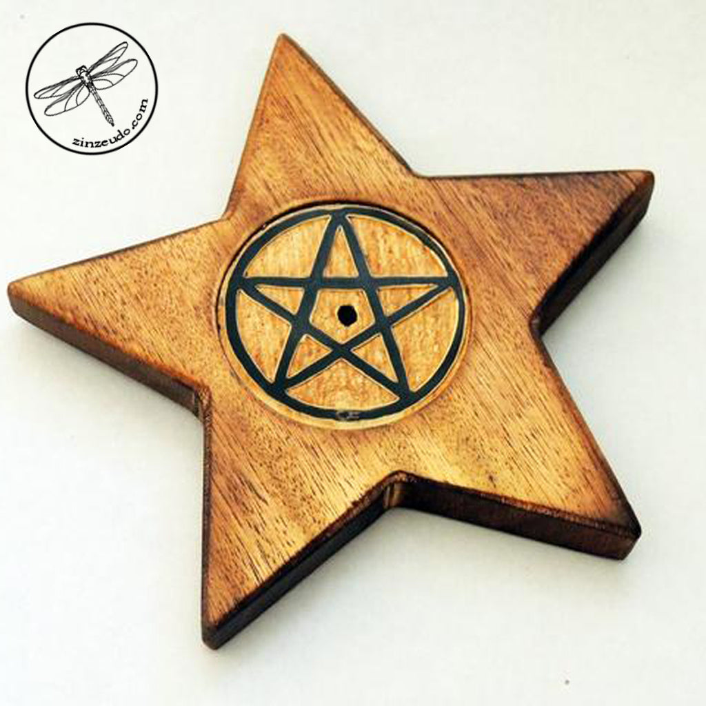 Stick Incense Holder - Pentacle