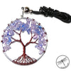 Tree of Life Gemstone Necklace, Amethyst