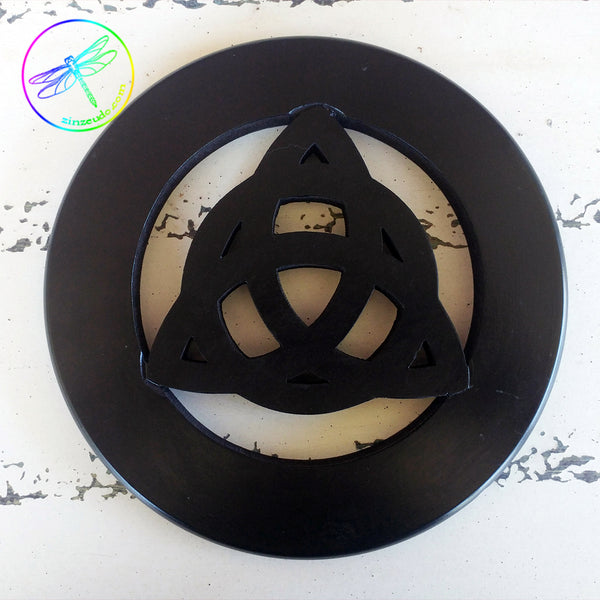 Triquetra Wall Hanging and Altar Tile