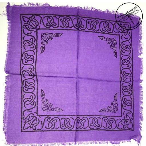 Celtic Altar or Tarot Cloth 18x18