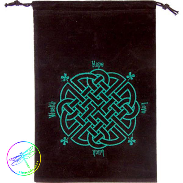 Velvet Bag - Celtic Knot