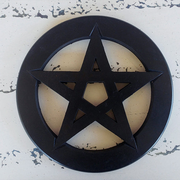 Pentagram Wall Hanging and Altar Tile