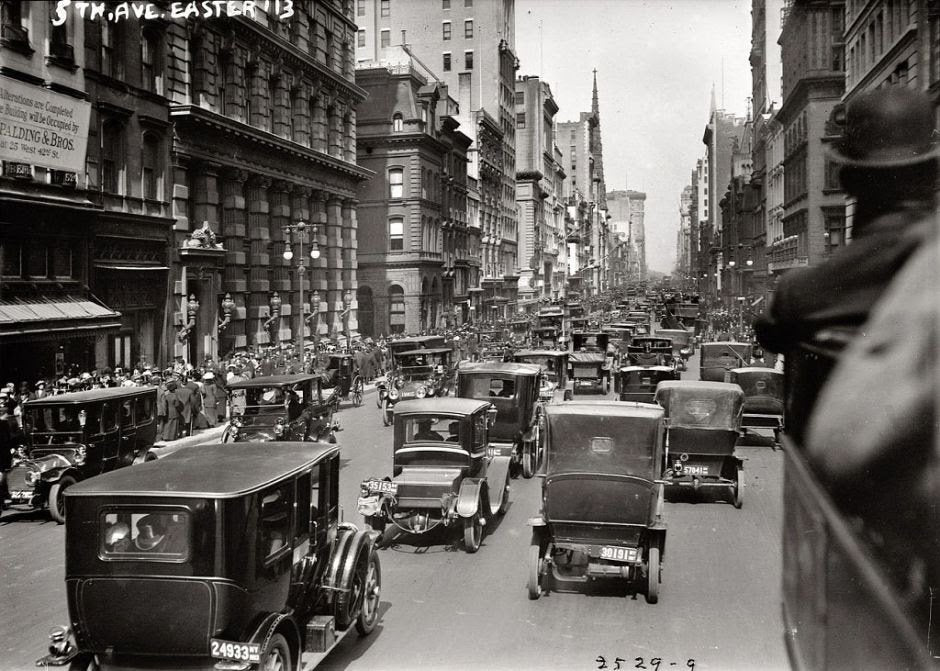 New York City 100 years ago