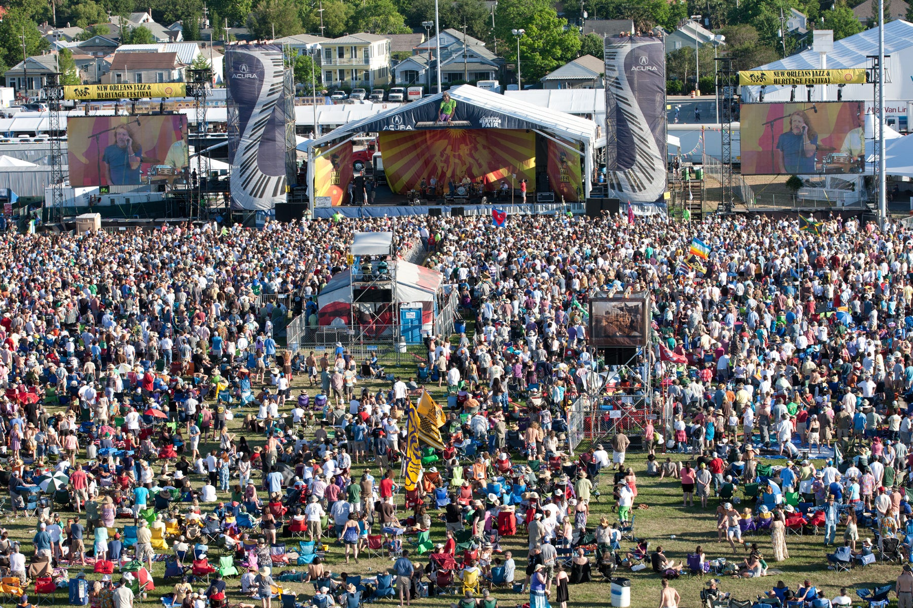 performs at the New Orleans Jazz & Heritage Festival 2011, at the Farigrounds Racetrack in New Orleans, Loouisiana.