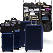 Load image into Gallery viewer, 2 Sets Carry-on, Suitcase, Riser, and Jumper