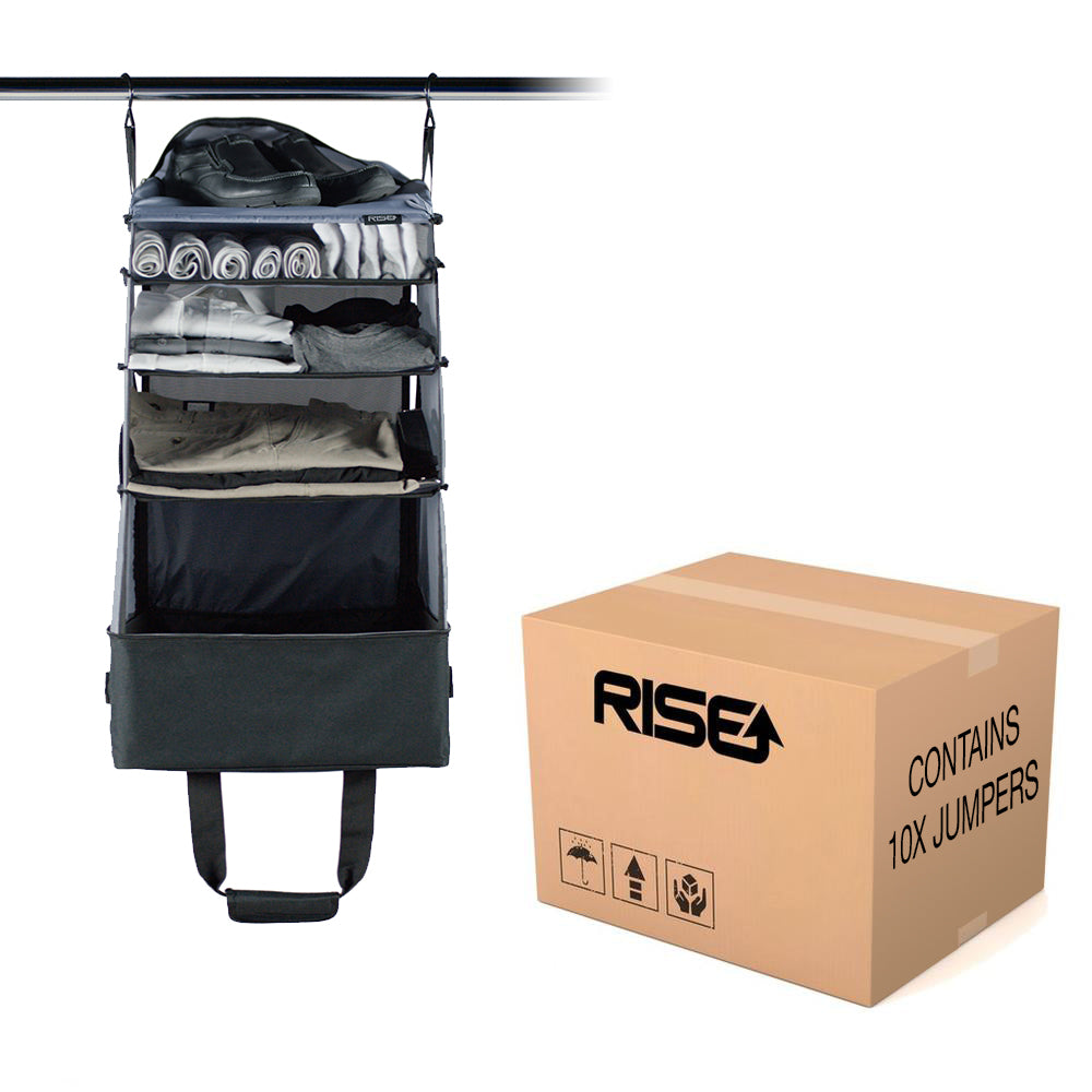 Carton of 10x Jumper, ride-along bags ($69.90/each)