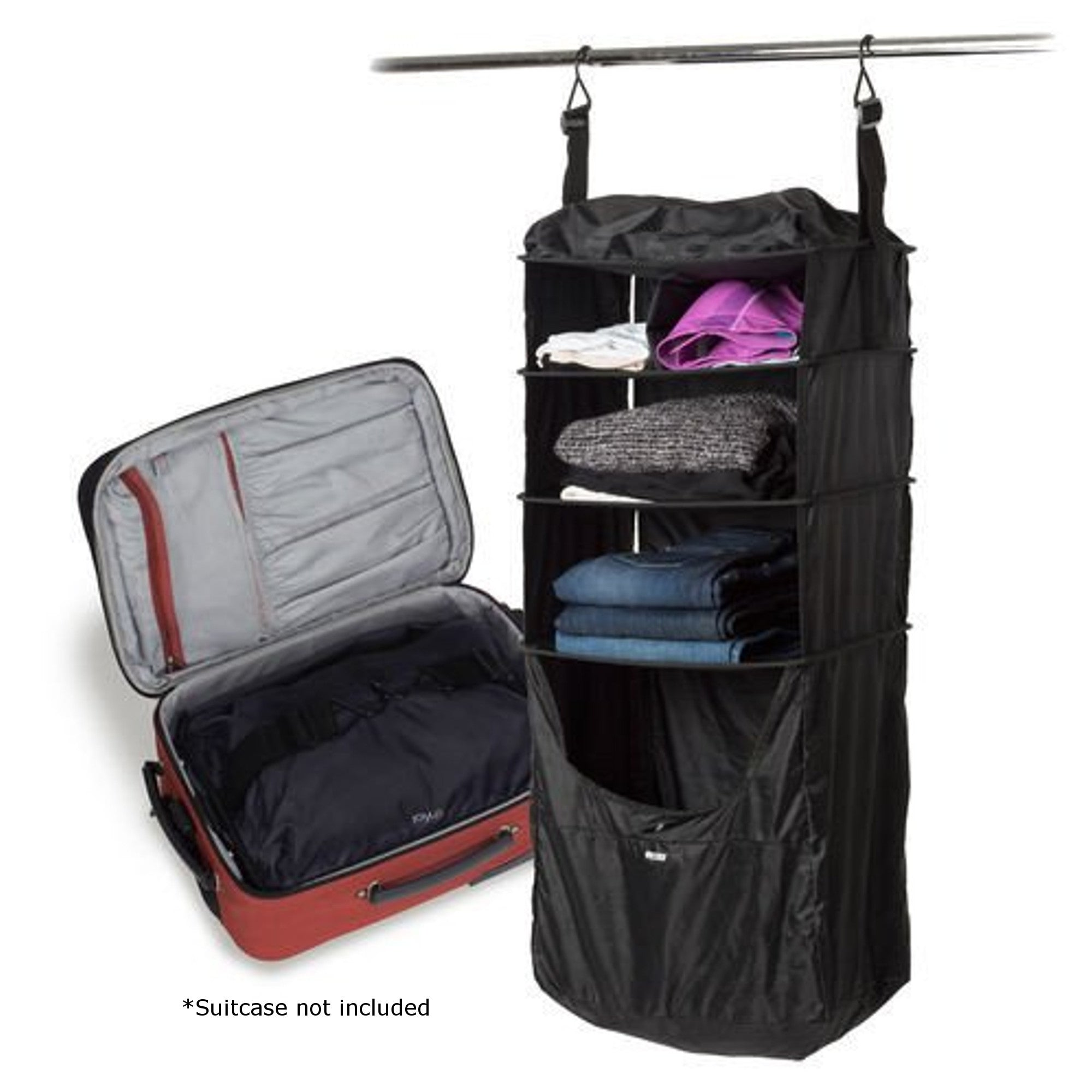 Delicieux Riser, Luggage Shelf