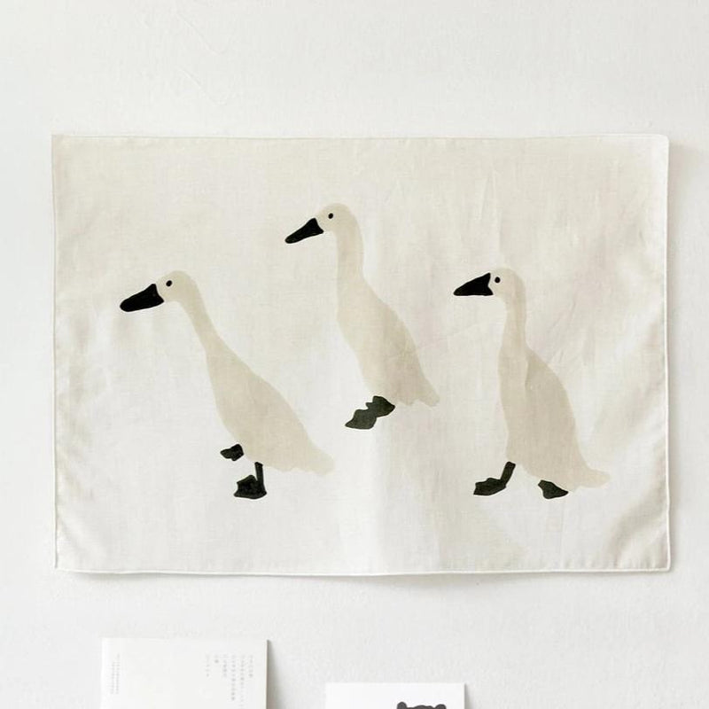 Indian Runner Duck Fabric - shopdaymoments