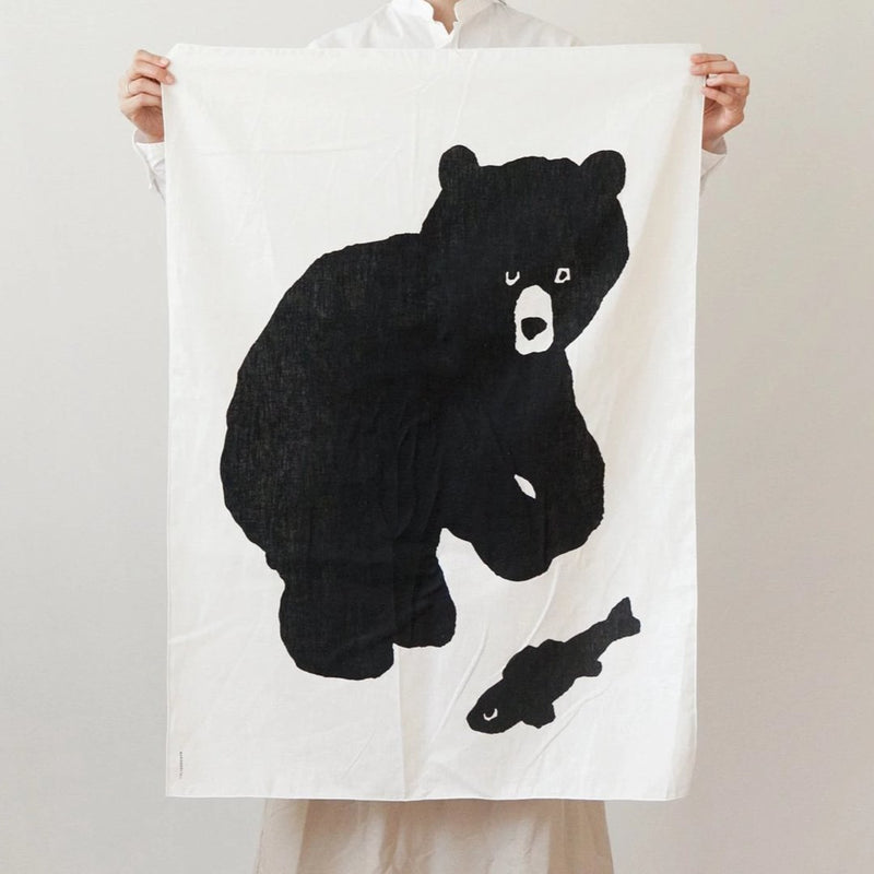 Black Bear Fabric - shopdaymoments
