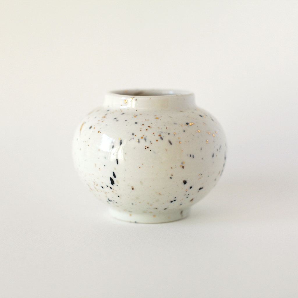 Speckle Moon Jar - shopdaymoments