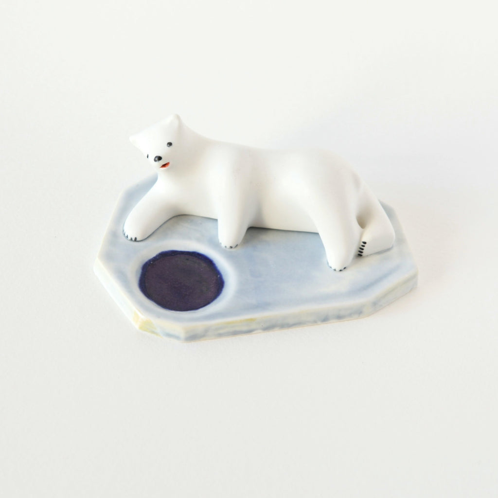 Polar Bear Tealight Candle Holder 2 - shopdaymoments