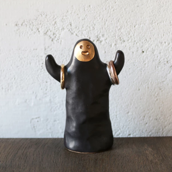 Hooray Golden Man Ring Holder - shopdaymoments