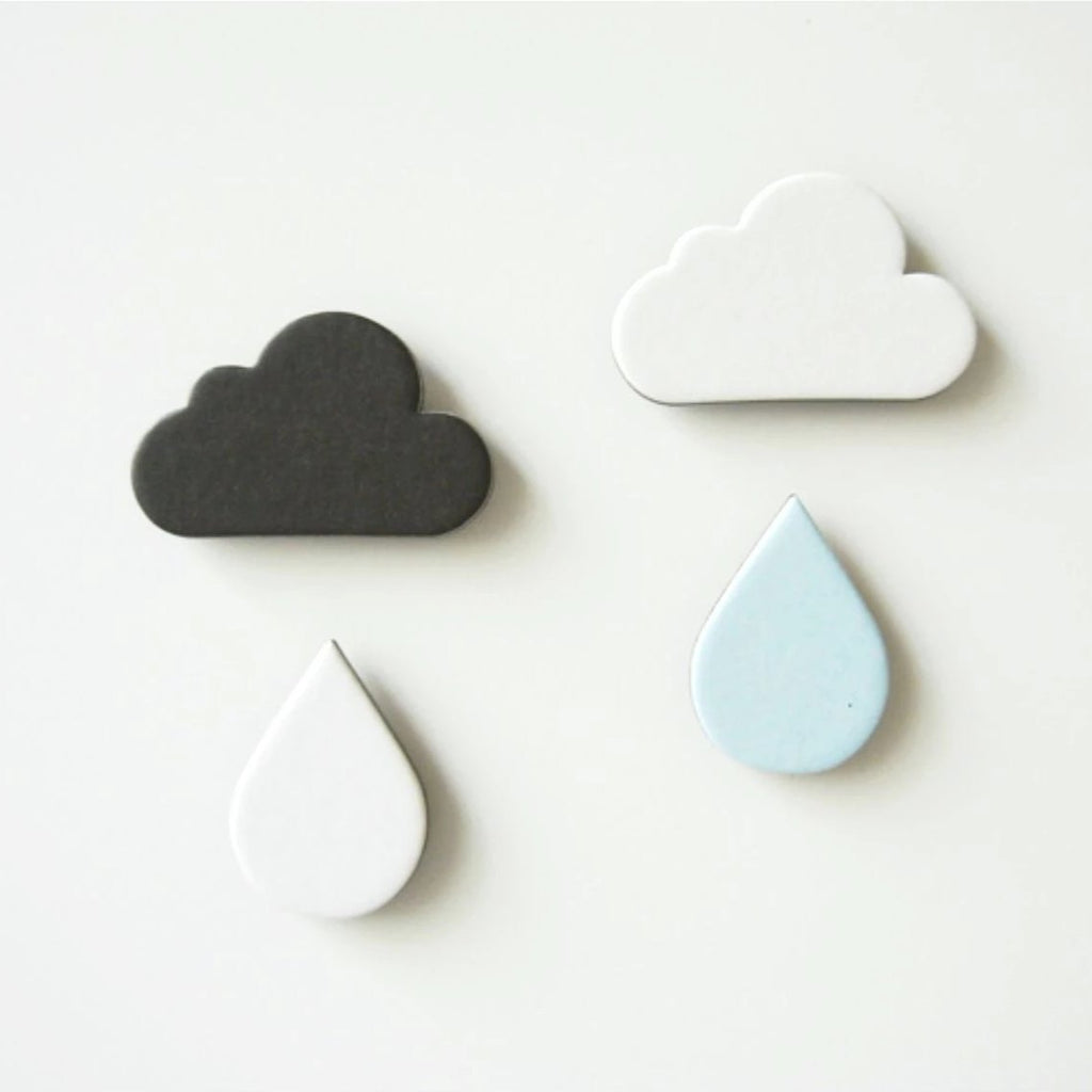 Cloud Paper Magnet Set - shopdaymoments
