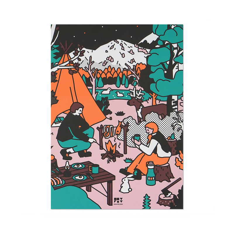 Camping Notebook - shopdaymoments