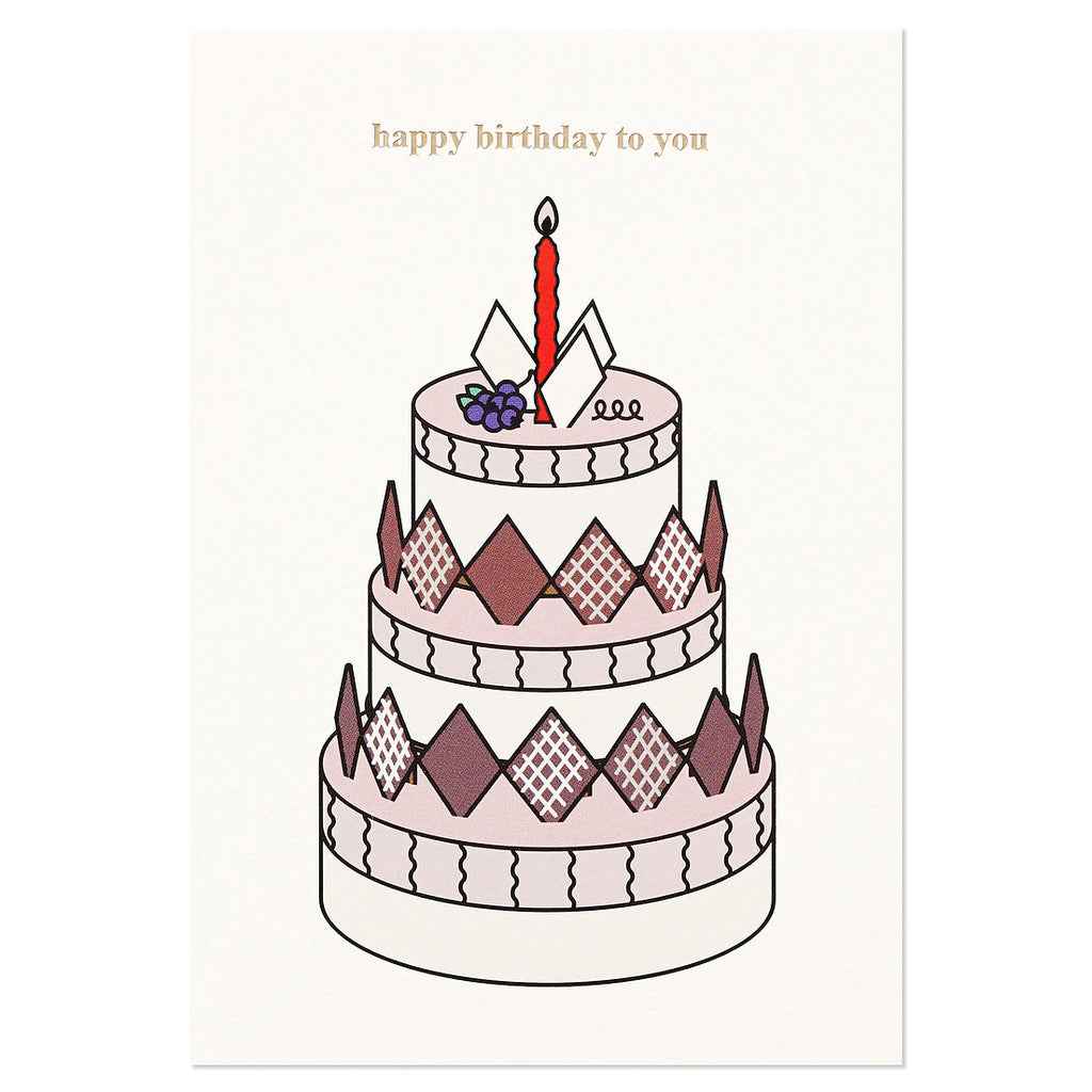 Cake Birthday Card Set of 2 - shopdaymoments