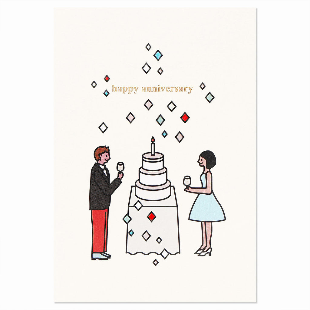 Couple Anniversary Card Set of 2 - shopdaymoments