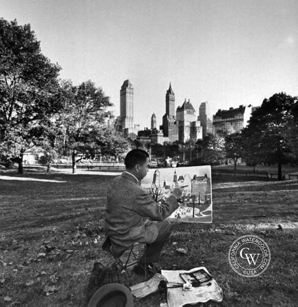 Kingman in Central Park, 1959