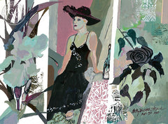 Etude in Grays, California art by Betsy Dillard Stroud. HD giclee art prints for sale at CaliforniaWatercolor.com - original California paintings, & premium giclee prints for sale