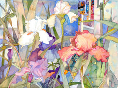 Schehrezade's Secret Garden Series, California art by Betsy Dillard Stroud. HD giclee art prints for sale at CaliforniaWatercolor.com - original California paintings, & premium giclee prints for sale