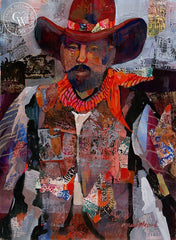 Urban Cowboy, California art by Betsy Dillard Stroud. HD giclee art prints for sale at CaliforniaWatercolor.com - original California paintings, & premium giclee prints for sale
