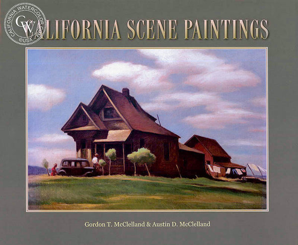 California Scene Paintings book, a California art book, CaliforniaWatercolor.com
