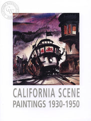 California Scene Paintings 1930-1950, a California art book, CaliforniaWatercolor.com