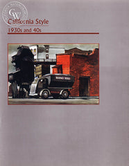 California Style 1930's and 40's, a California art book, CaliforniaWatercolor.com