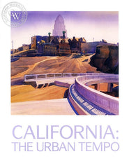 California: The Urban Tempo, a California art book, CaliforniaWatercolor.com