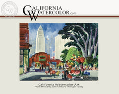 California Watercolor Art from the Early 20th Century Through Today, a California art book, CaliforniaWatercolor.com