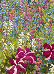 Milli Fiori, California art by Carolyn Lord. HD giclee art prints for sale at CaliforniaWatercolor.com - original California paintings, & premium giclee prints for sale