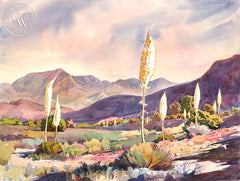 Acton Candles, a California watercolor painting by Glen Knowles. HD giclee art prints for sale at CaliforniaWatercolor.com - original California paintings, & premium giclee prints for sale