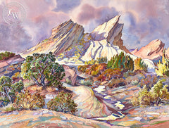 After a Rain, California art by Glen Knowles. HD giclee art prints for sale at CaliforniaWatercolor.com - original California paintings, & premium giclee prints for sale