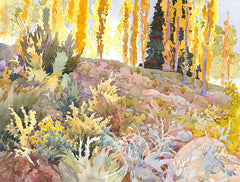 Symphony in the Shadows, California art by Glen Knowles. HD giclee art prints for sale at CaliforniaWatercolor.com - original California paintings, & premium giclee prints for sale