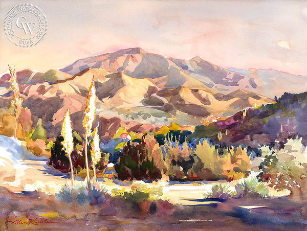 The Spirit of Nature Revealed, a California watercolor painting by Glen Knowles. HD giclee art prints for sale at CaliforniaWatercolor.com - original California paintings, & premium giclee prints for sale