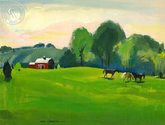 Kentucky Spring, 1959, California art by Hardie Gramatky. HD giclee art prints for sale at CaliforniaWatercolor.com - original California paintings, & premium giclee prints for sale
