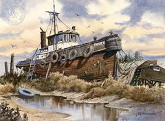 Pilot II, California art by John Bohnenberger. HD giclee art prints for sale at CaliforniaWatercolor.com - original California paintings, & premium giclee prints for sale