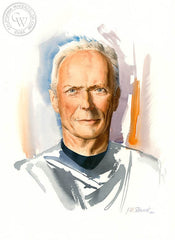 Clint, California art by John Norman Stewart. HD giclee art prints for sale at CaliforniaWatercolor.com - original California paintings, & premium giclee prints for sale